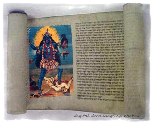hidden book of kali