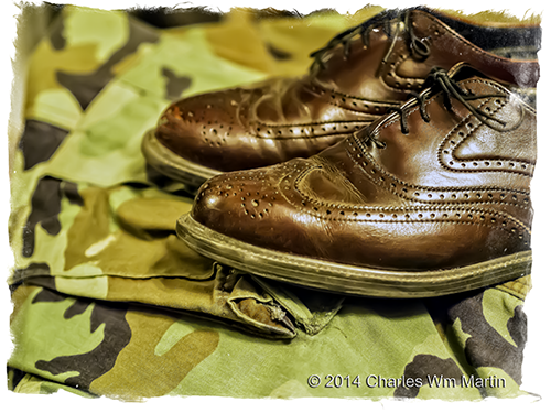 government issued wingtips
