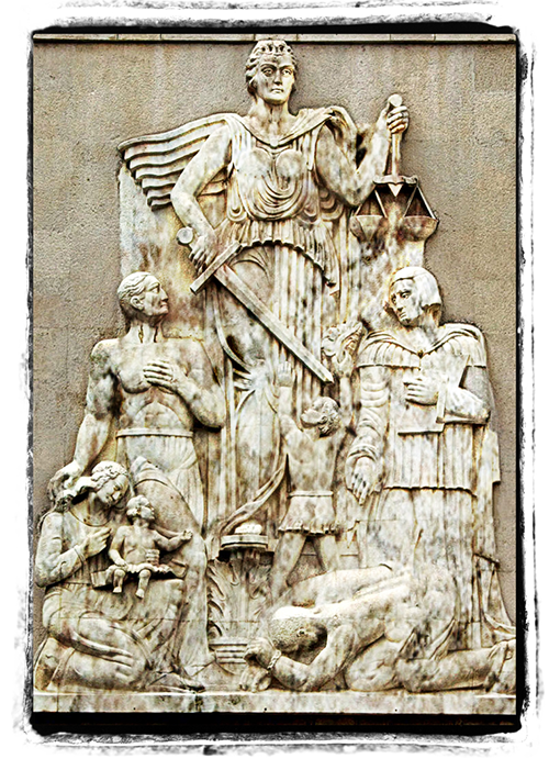Modified Justice Statue Iran: From Wikimedia Commons