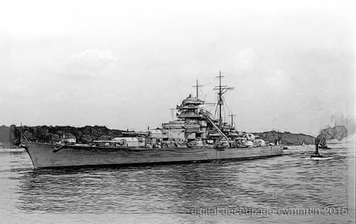 modified Sammlung Schlachtschiff Bismarck (Bild 193) German Federal Arachives