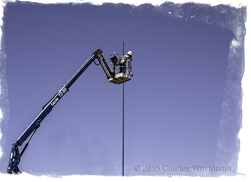 greasy pole climbing