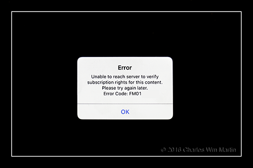 connection error #1...