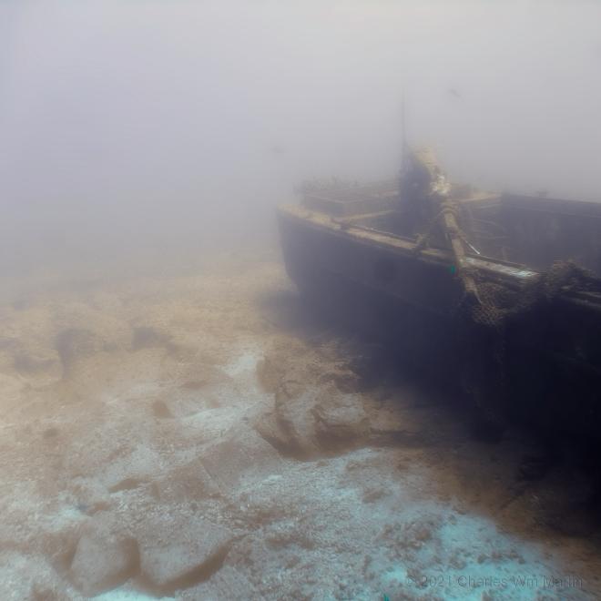 holding my breath under water